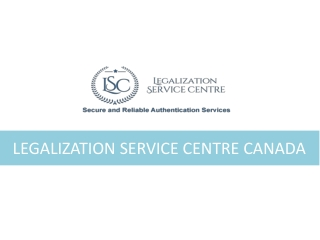 Know About TheAuthentication Documents Needed In Canada