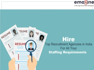 Top Recruitment Agencies in India- Emagine People Technologies