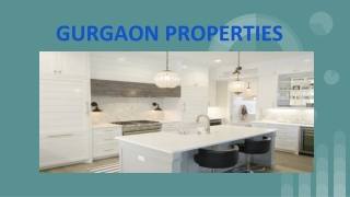 Property in Gurgaon - Know More About Residential Properties for Sale in Gurgaon