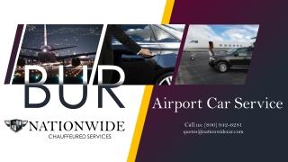 Burbank Airport Car Service