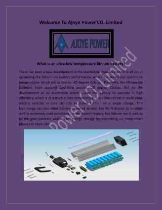 Customized Lithium Battery, Battery Products China