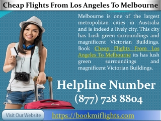 Cheap Flights From Los Angeles To Melbourne – Save Upto 40% Off