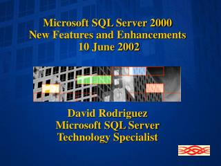 Microsoft SQL Server 2000 New Features and Enhancements  10 June 2002