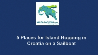 Best Sailing Holidays in Croatia