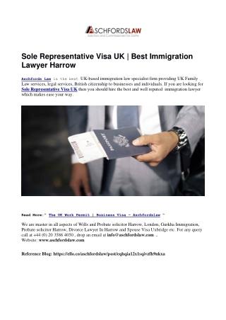 Best UK Immigration lawyer in Harrow, London
