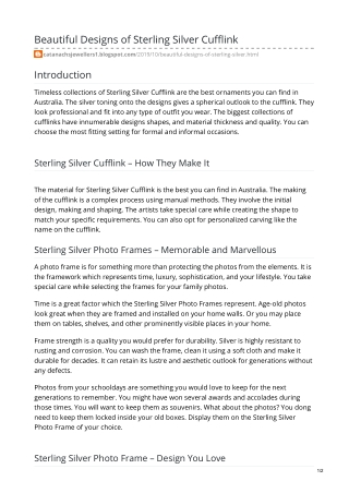 Sterling Silver Bracelets Australia