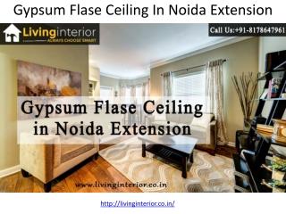 Gypsum Ceiling Work for ceiling