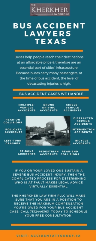 Texas Bus Accident Lawyers - The Kherkher Law Firm