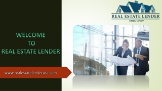 Mortgages for Commercial Properties
