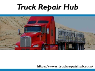 Truck repairs service on your phone