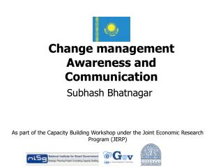 Change management  Awareness and Communication
