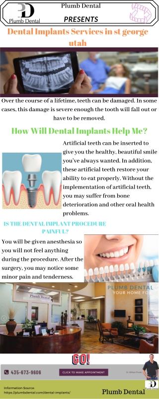 Find the Dental Implants services in st. George Utah