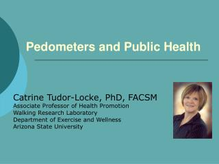 Pedometers and Public Health