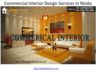 Commercial Interior Design Services in Noida