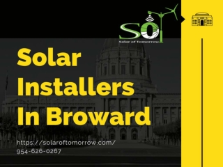 Solar Installers In Broward