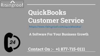 QuickBooks Customer Service contact number