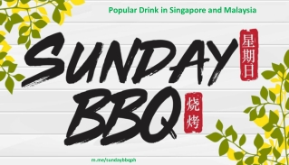 Popular Drink in Singapore and Malaysia