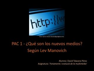 Fonaments i evolució de la multimèdia - PAC 1
