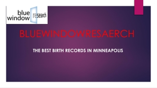 The Best Birth Records In Minneapolis