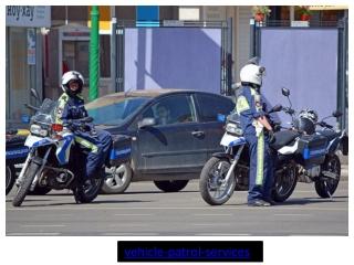 Vehicle Patrol Services