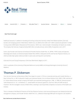 Board of Directors _ RTMS - Scott Rifkin