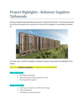 2 BHK Flats in Tathawade Pune
