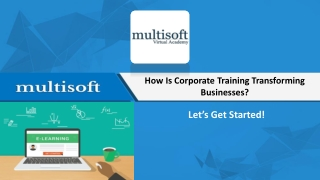 How is Corporate Training Transforming Businesses?