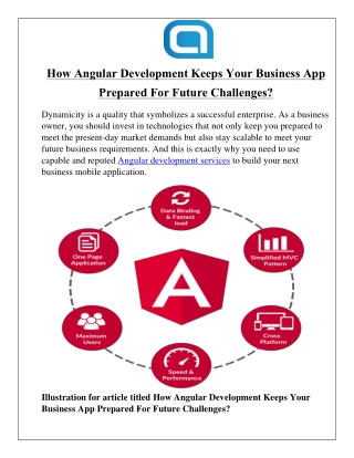 How Angular Development Keeps Your Business App Prepared For Future Challenges?