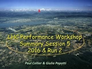 LHC Performance Workshop Summary Session 5 2016 & Run 2