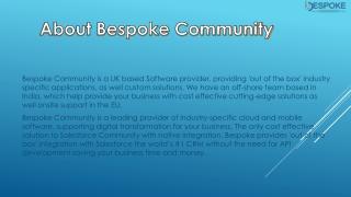 Salesforce Customer Community UK | Salesforce Partner Community | BespokeCommunity