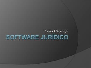 SOFTWARE JUR DICO