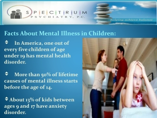 Overview mental Illness in Child and Adolscents