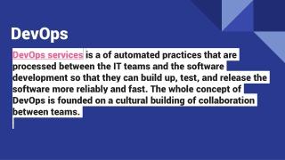 DevOps| Importance| Practices