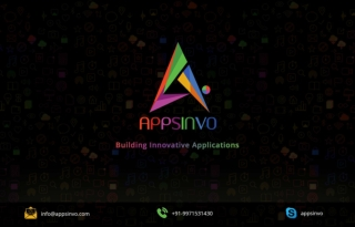Appsinvo : One of the Best Mobile and Web App Development Company in India and the USA