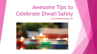 Diwali for Kids | Safety and Health Tips | Activities for Diwali