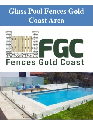 Glass Pool Fences Gold Coast Area