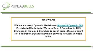 Microsoft Dynamics 365   Punjab Bulls Technology Pvt Ltd