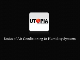 Air Conditioning & Humidity Systems