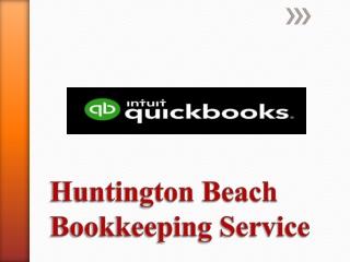 Huntington Beach Bookkeeping Service
