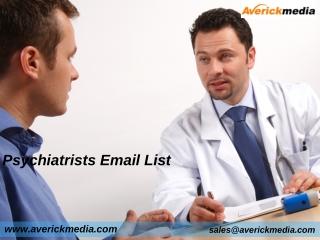 Psychiatrists Email List