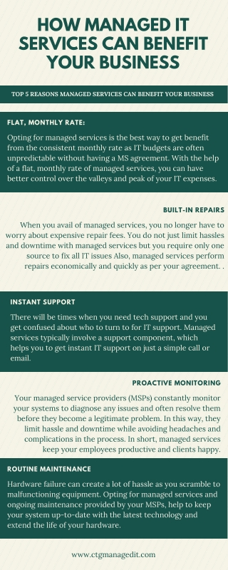 How Managed IT Services Can Benefit Your Business