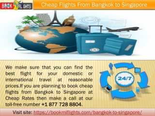 Cheap Flights from Bangkok to Singapore - Save Up to 60% Off