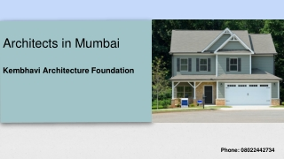 Best Architects in Mumbai