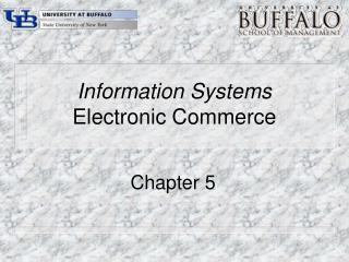 Information Systems Electronic Commerce