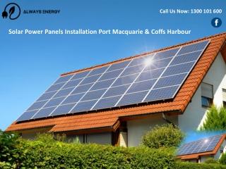 Solar Power Panels Installation Port Macquarie & Coffs Harbour