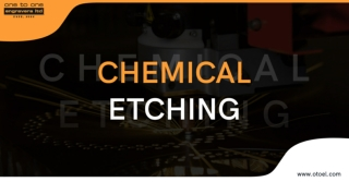 Chemical Etching at One to One Engravers
