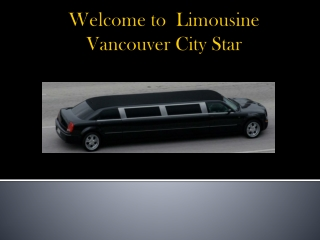 Vancouver Airport Transfer Services