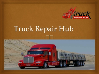Get the professional service such as trailer repair shop