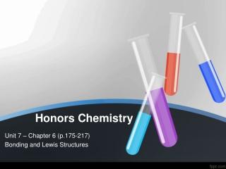 Chemical Bonding: Molecular Structure