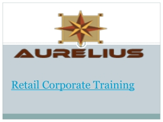 Retail corporate training